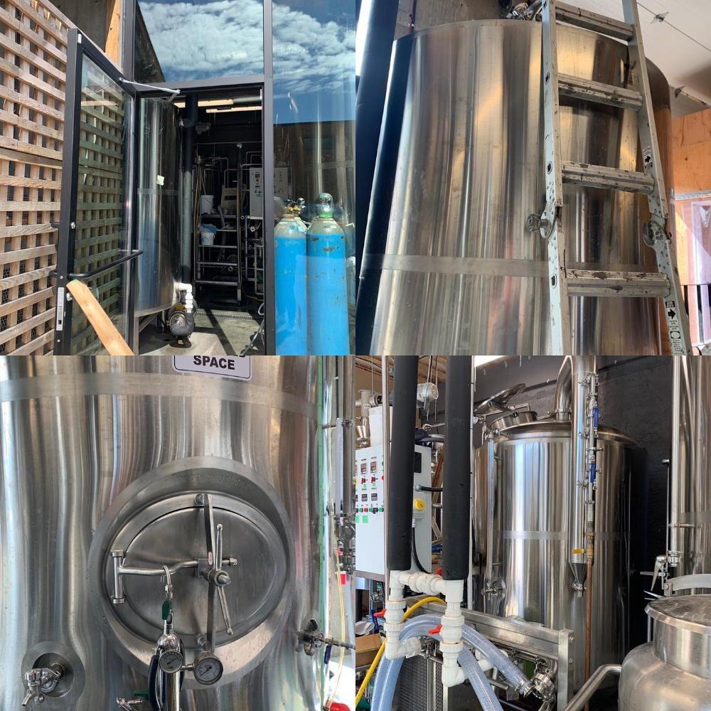brewery equipment,Beer fermenter,beer fermentation tank,microbrewery system,brewery in Canada,Two vessel brewhouse, Tiantai beer brewing,
