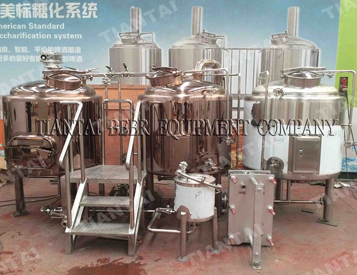 <b>5 bbl Electric brewhouse with CE</b>