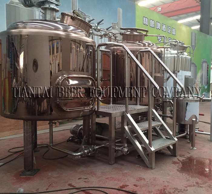 4BBL Steam Mash Tun for steam brewing system