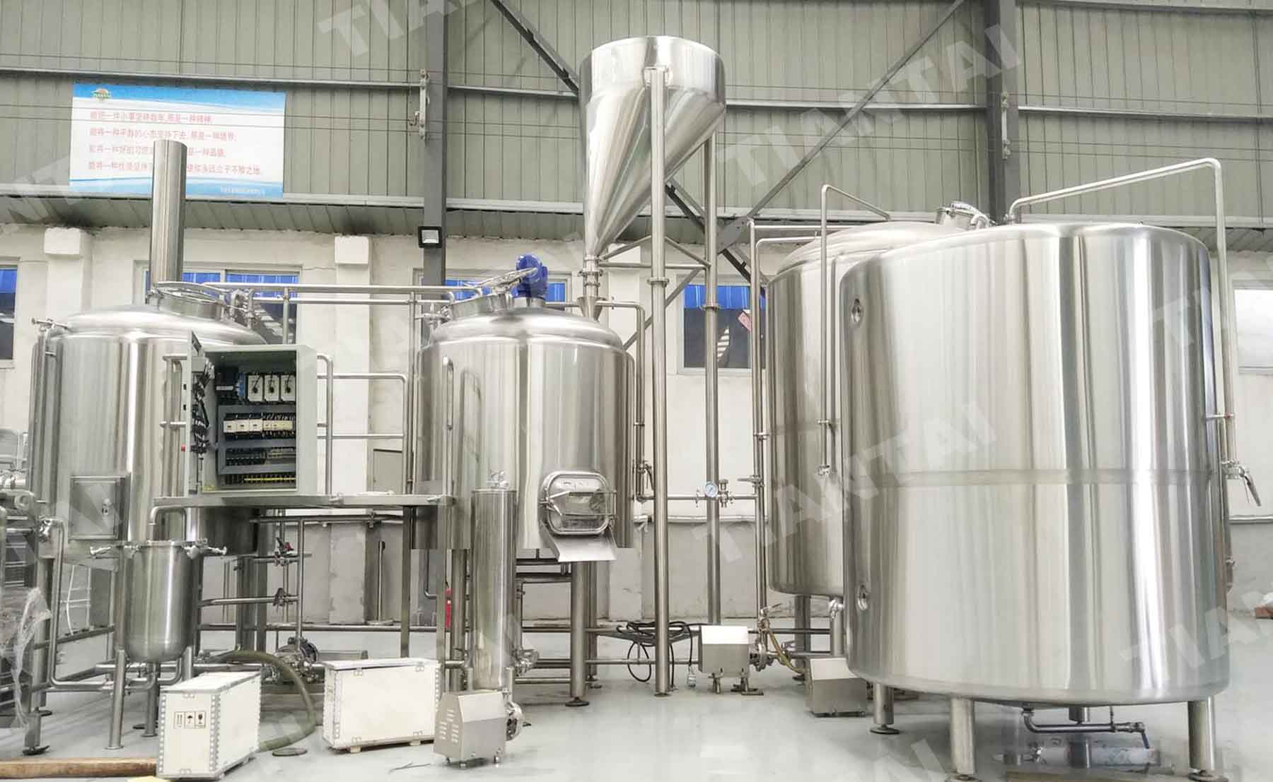 Australia 1200L Microbrewery Equipment is installed!