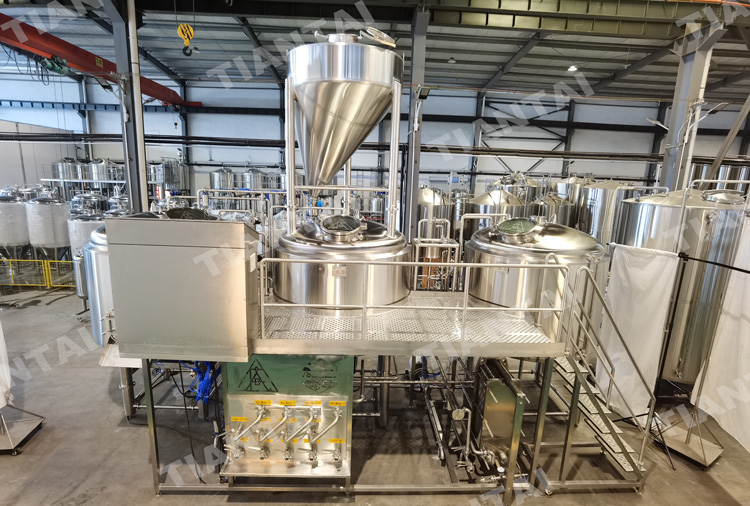 2500L Three vessel brewhouse Microbrewery equipment  to