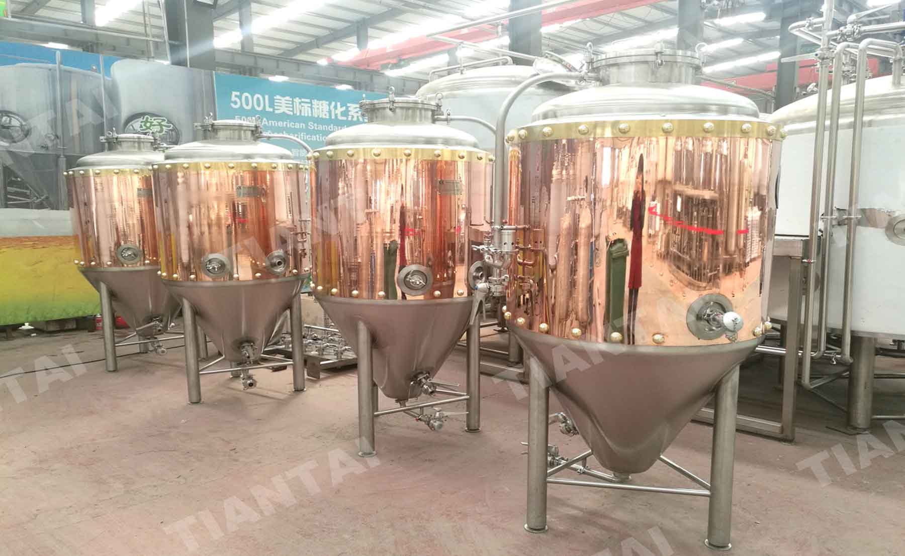 A red copper fermenter news beer equipment for sale for Craft a brew fermenter