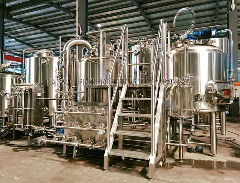 The 500L brewery equipment for Latvia is ready