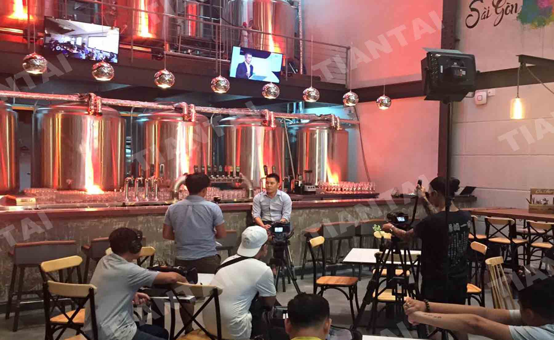 Vietnam brewery has a good business!