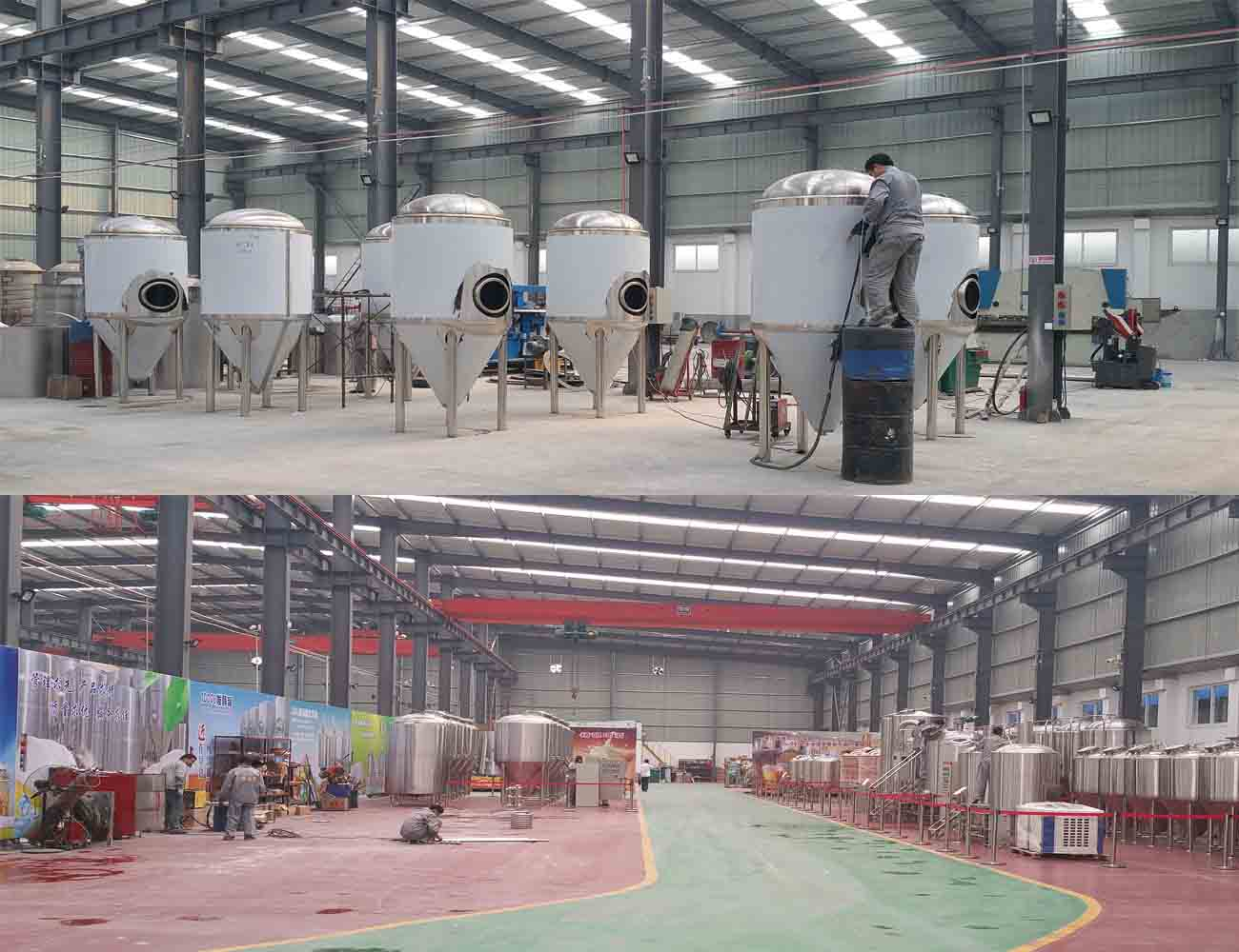 how beer equipment is manufactured?