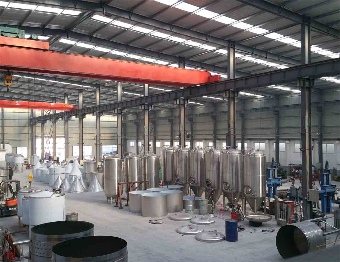 tiantai beer equipment company