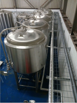 brewery glycol pipes installation in uk
