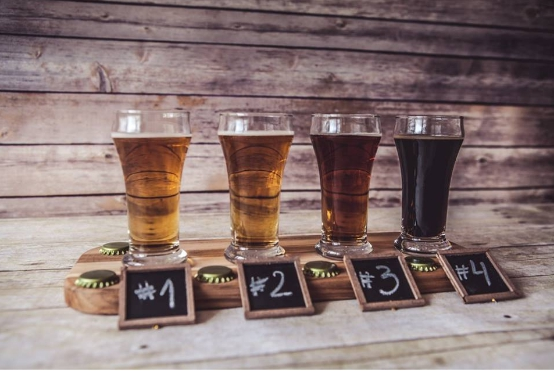 The craft beer brewing