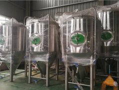 15bbl double wall fermenter in stock