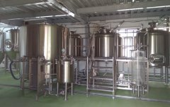 brewery equipment in Japan
