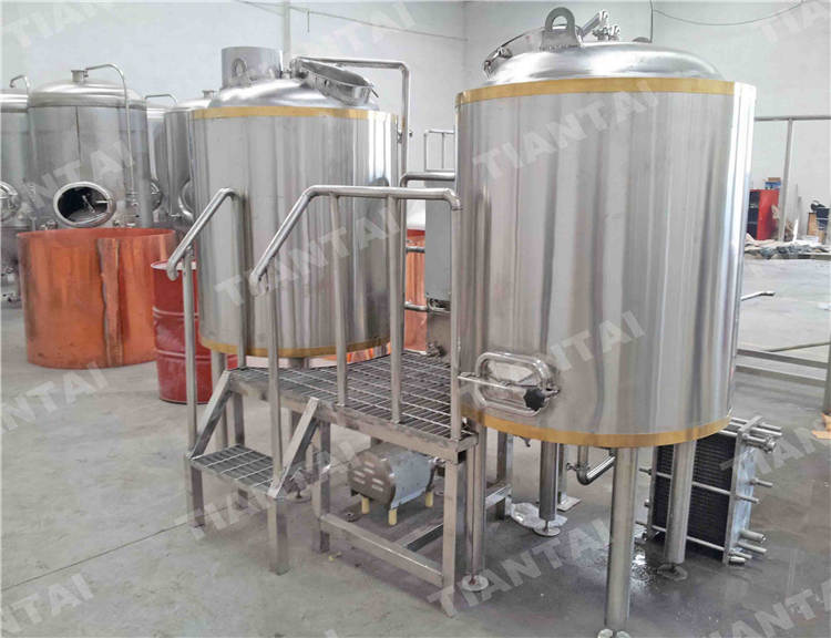 600l two vessel brewhouse system two vessel brewhouse for Craft kettle brewing equipment