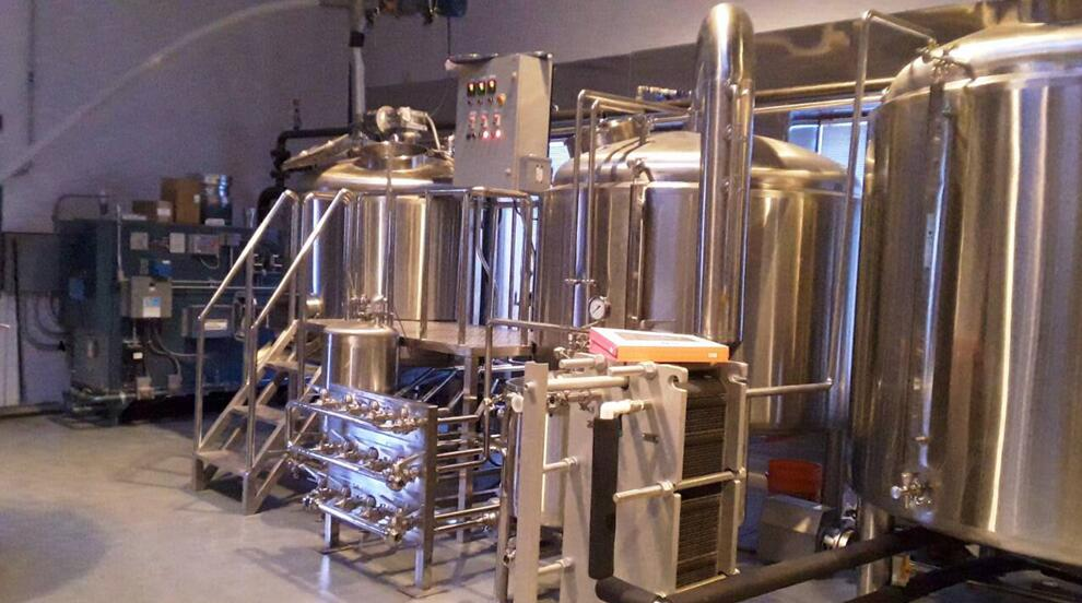 15BBL Two Vessel Brewhouse Case in US