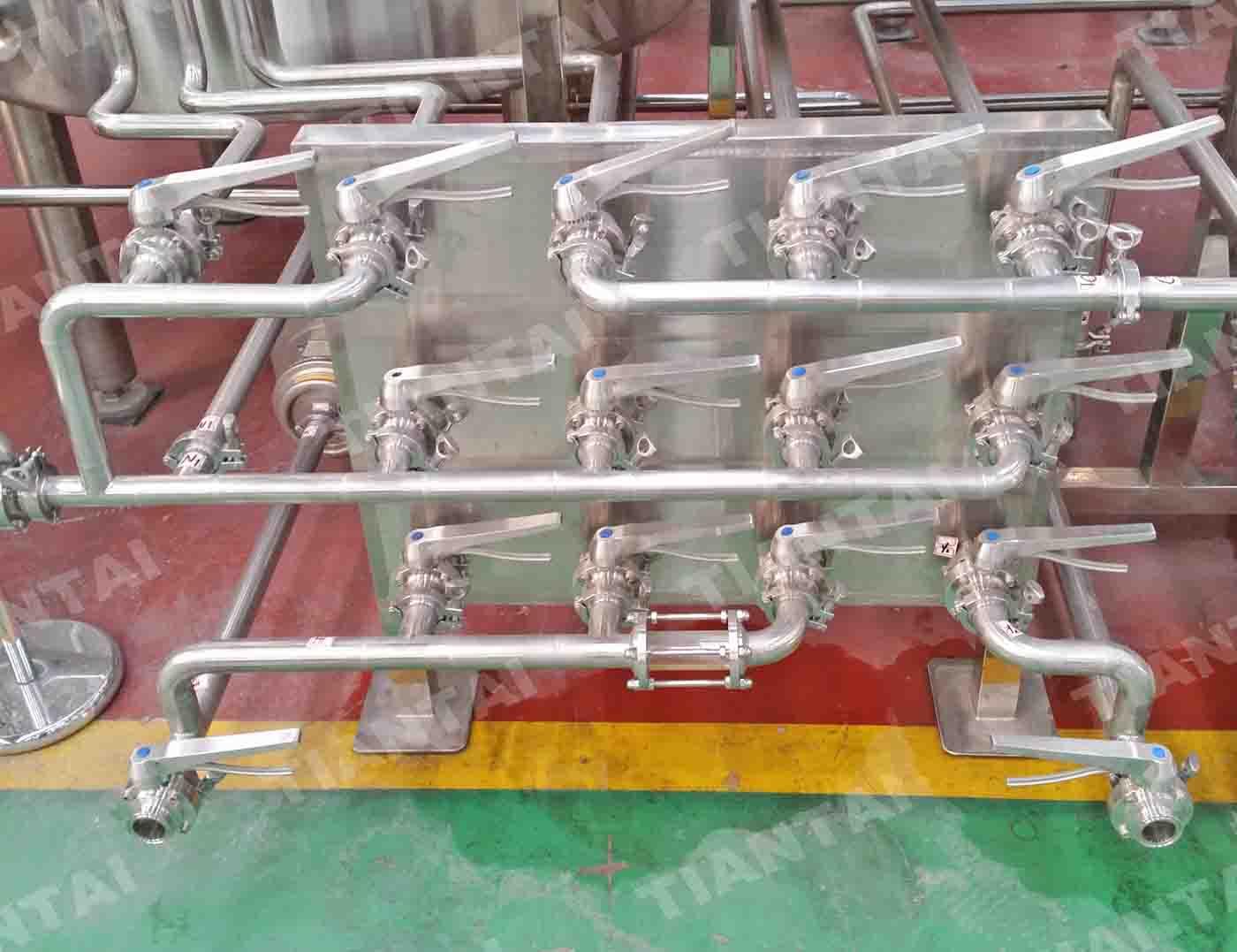 10 bbl Copper mashing equipment