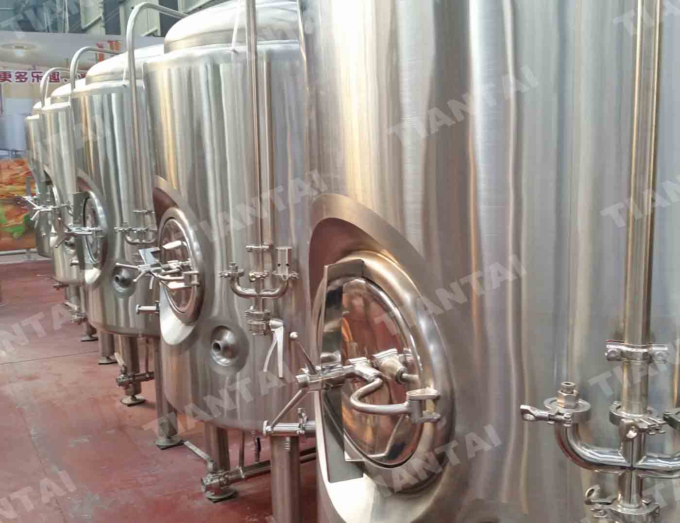 15BBL Vertical Bright Beer Tank