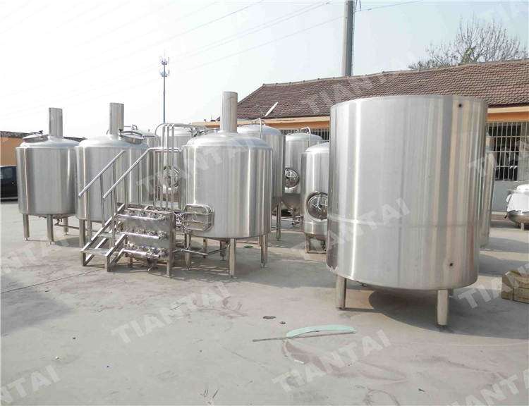 8 bbl Electric brewhouse