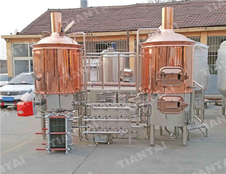 800L Copper mashing equipment