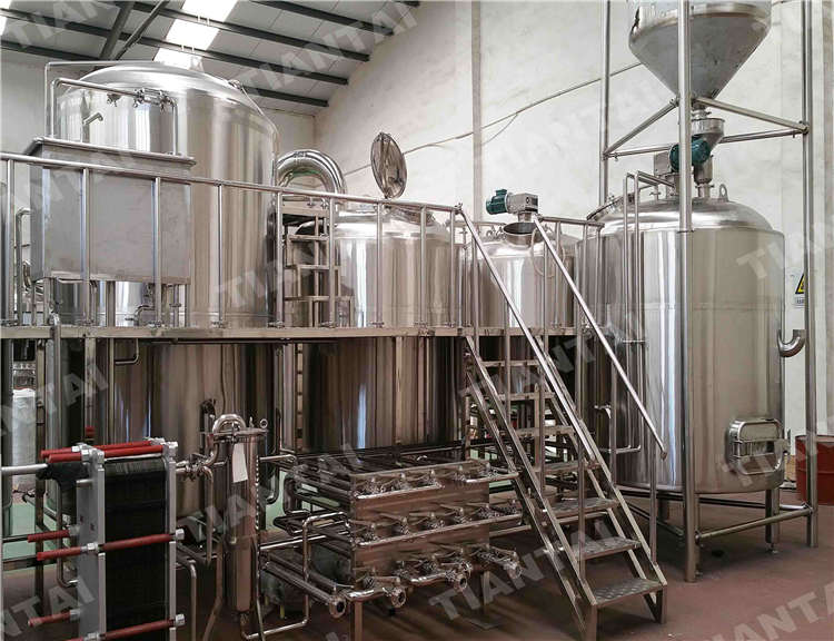60 bbl stainless steel brewhouse system stainless steel for Craft kettle brewing equipment