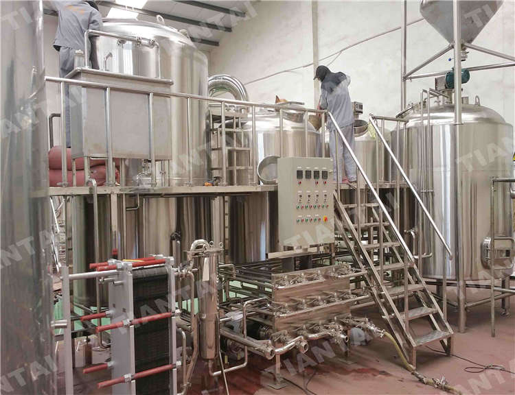 8bbl Four vessel brew house system