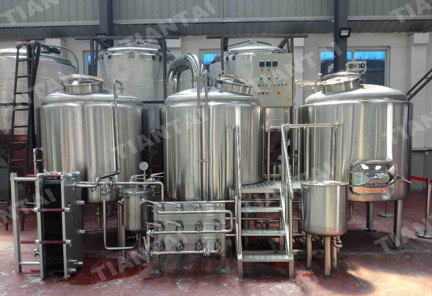 1500l beer brewing system delivering to latvia news for Craft kettle brewing equipment