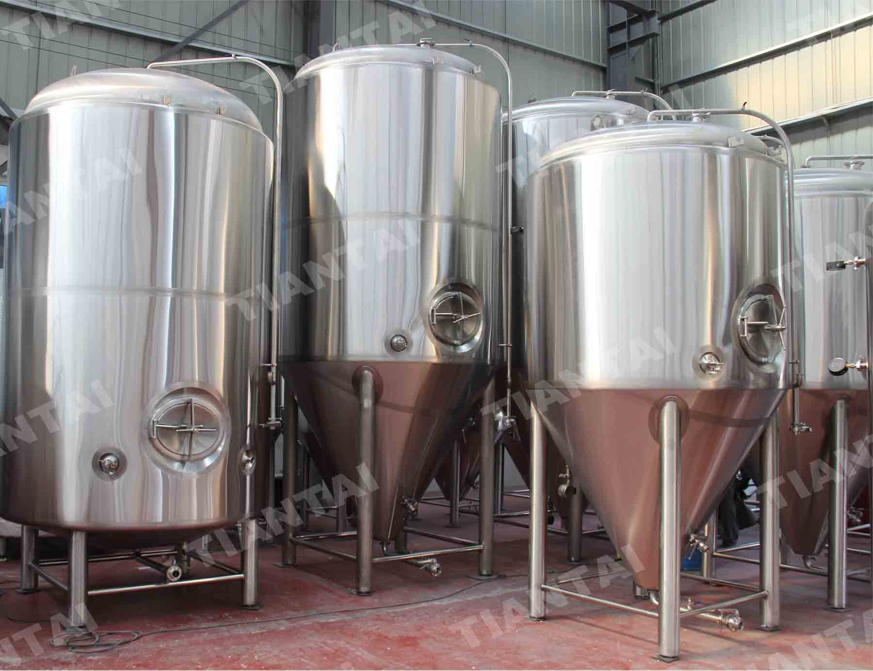 What kind of accessories should installed on fermenters?
