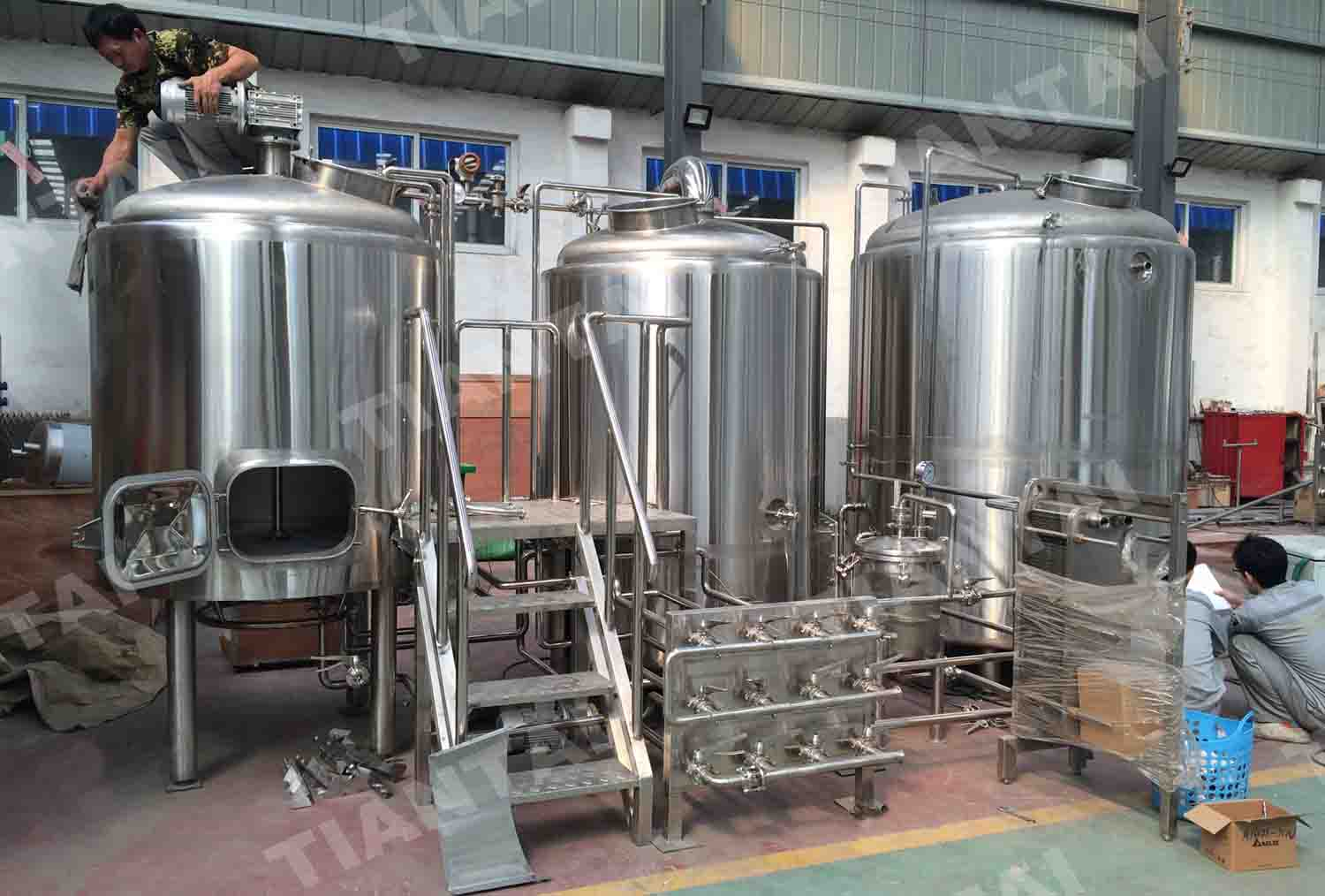 Turnkey 10bbl Beer Brewery System Delivered To Us News