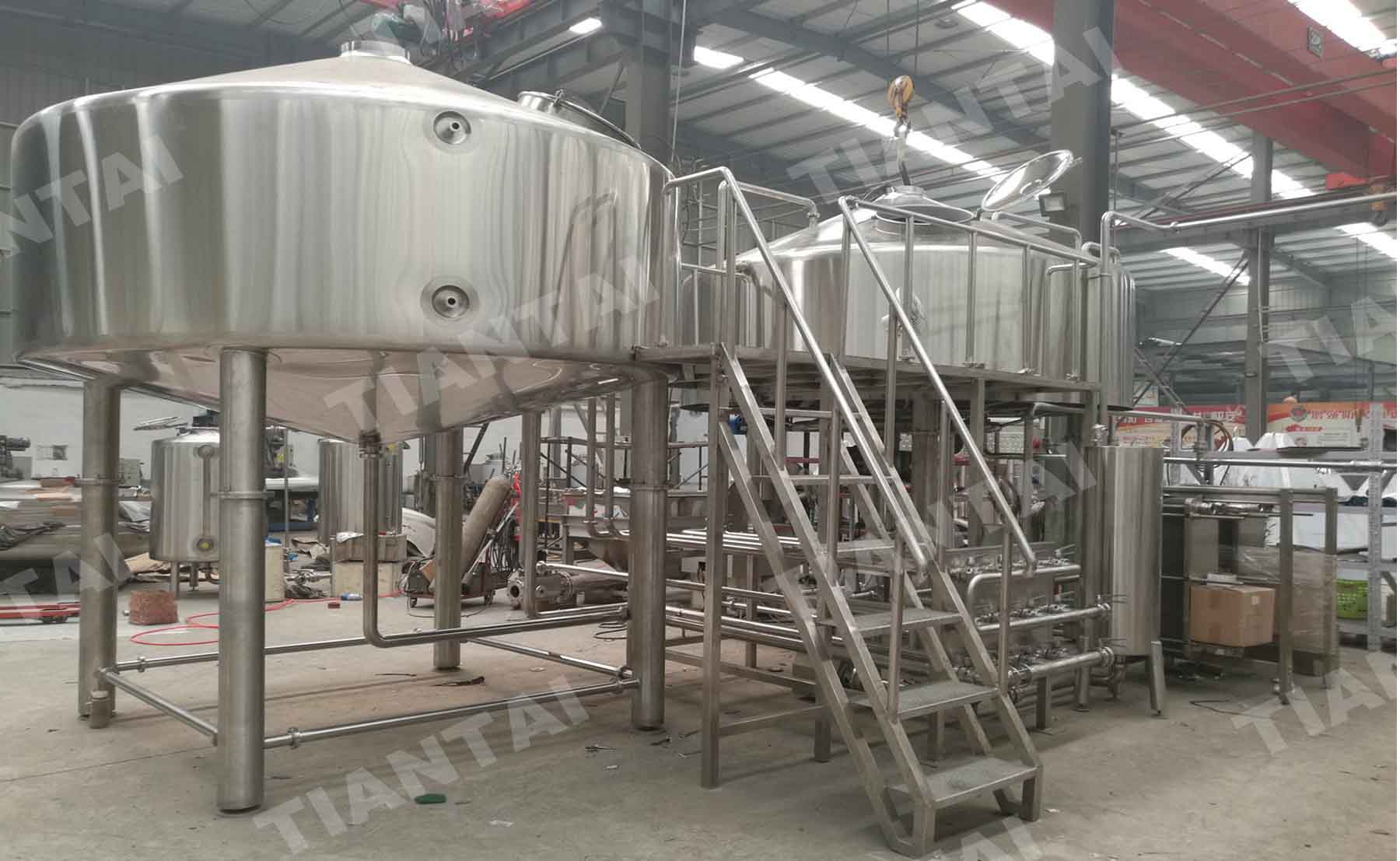 40BBL Steam Mash Tun/Mashing equipment