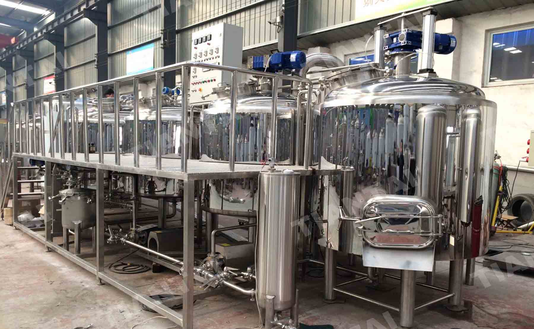 <b>15 bbl Electric Brewhouse</b>