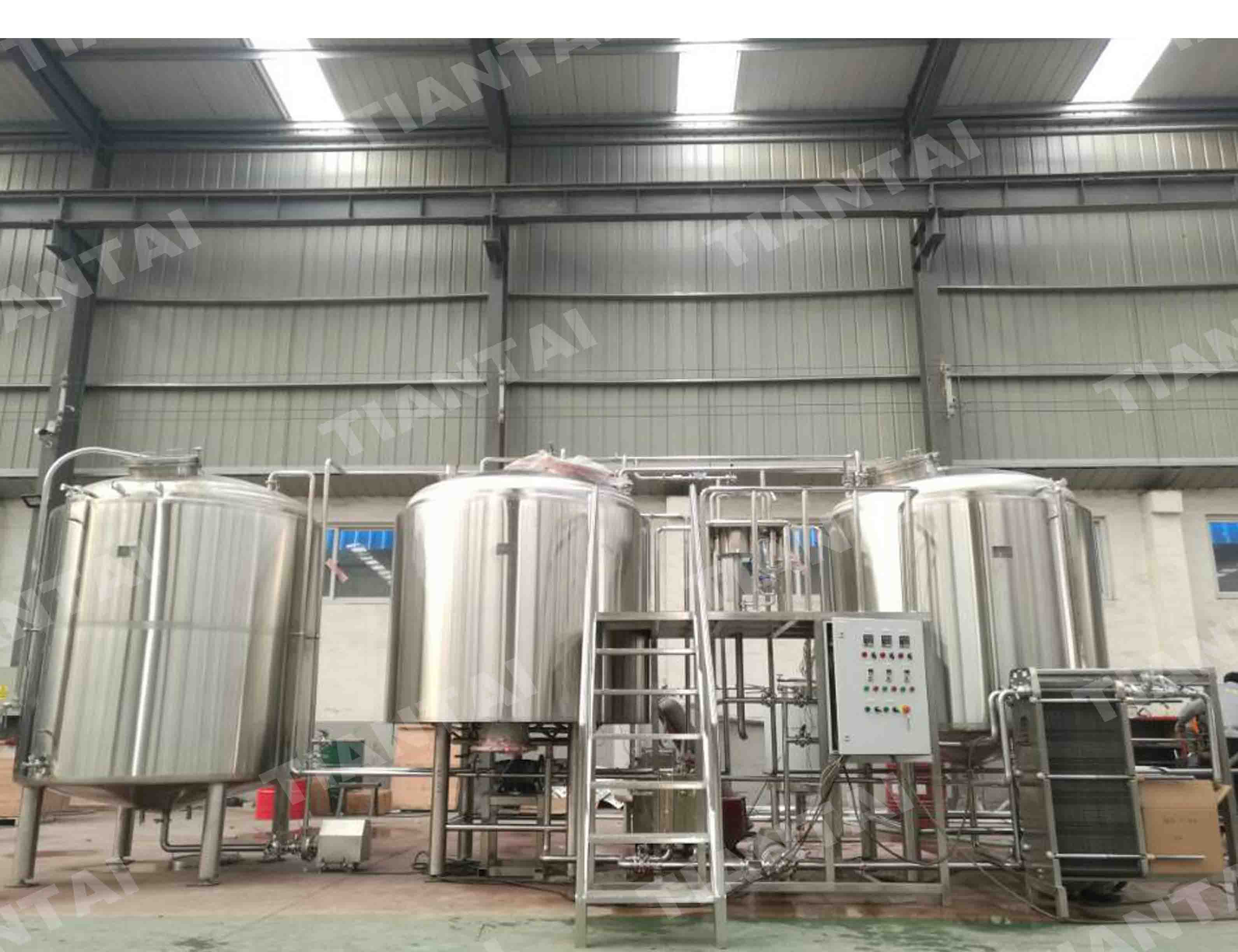 20 bbl Electric brewhouse