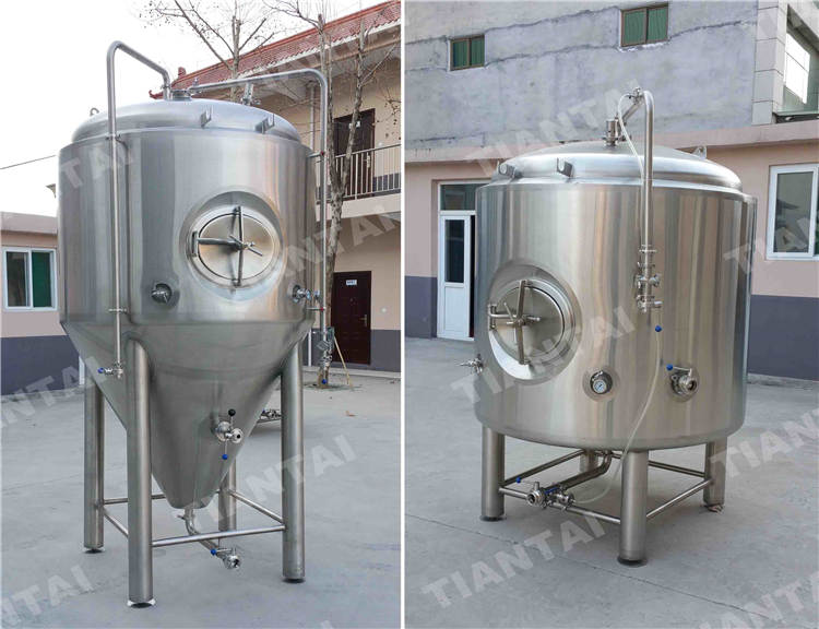 <b>1200L Jacketed Bright Beer Tank</b>