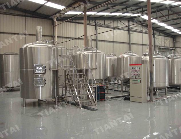 2000L Craft beer brewing equipment in Chengdu China