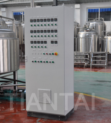 <b> Manual valves and PID control is enough for microbrewery</b>