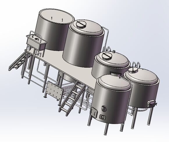brewhouse in piping design