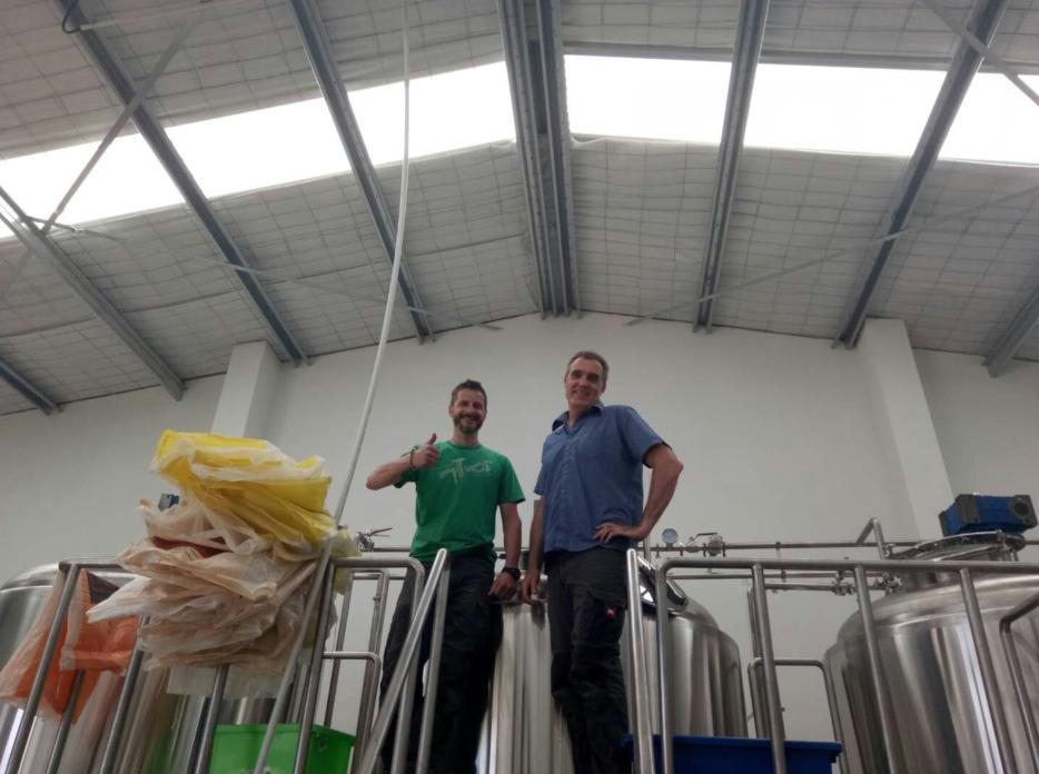 Tinker Tailor Brewery in New Zealand  --20 BBL Microbrewery equipment