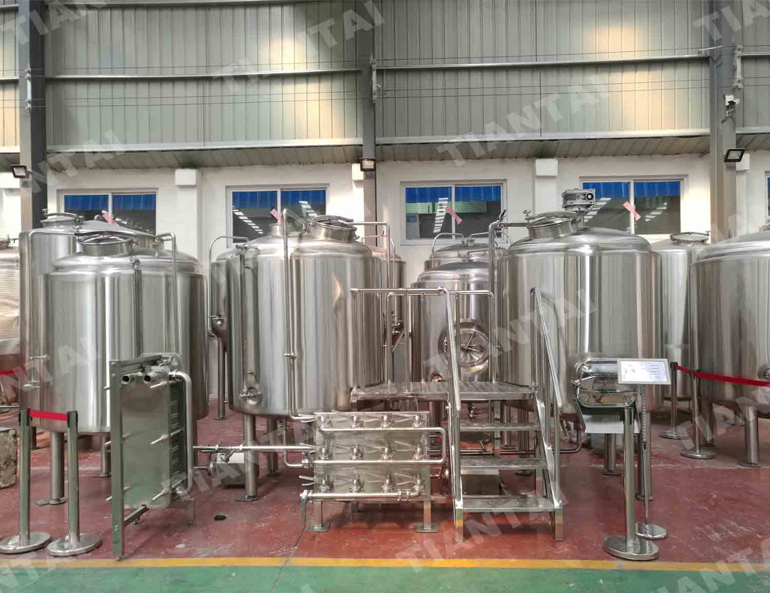 1200L Electric Brewhouse