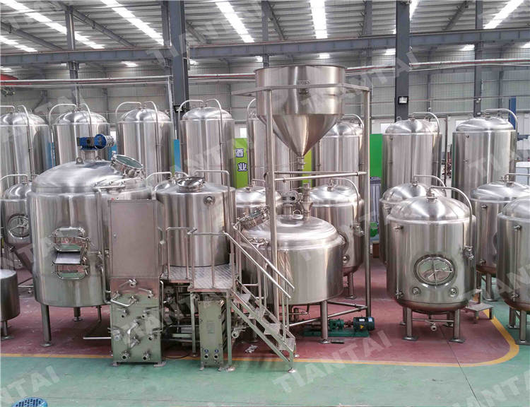 <b>10 bbl stainless steel brewhouse system</b>