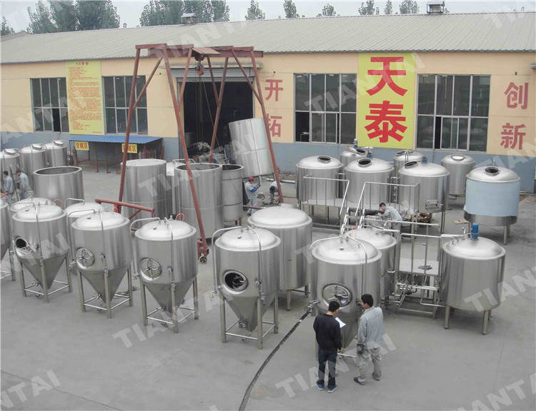 <b>10bbl Three vessel brewhouse equipment</b>