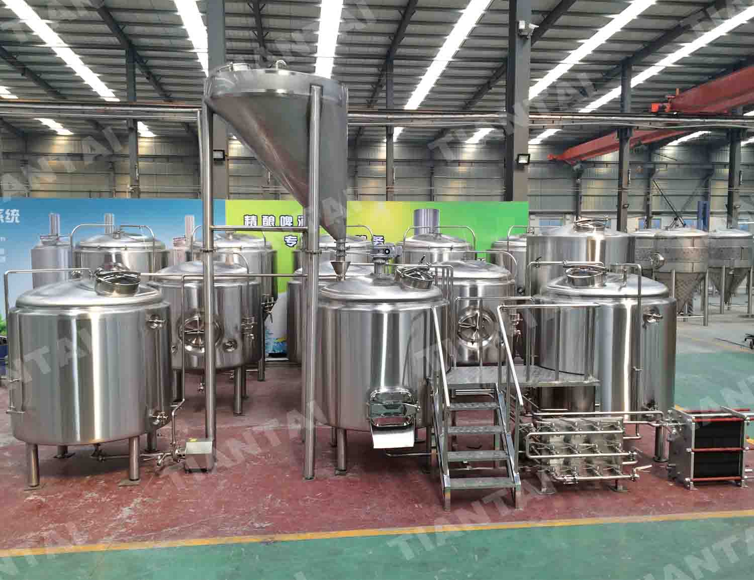 <b>15 bbl stainless steel brewhouse system</b>