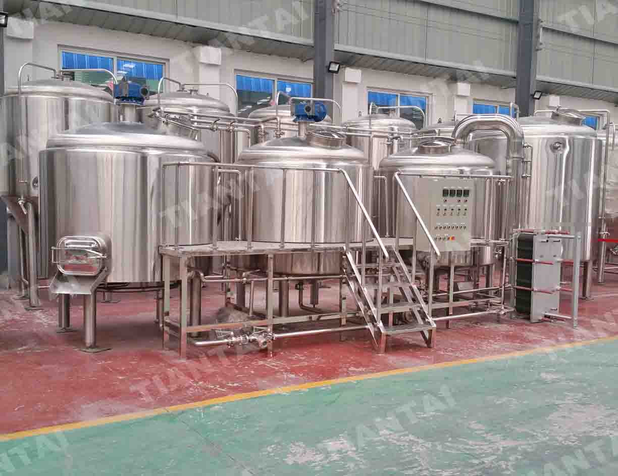 2000liter craft brewery equipment mash tun lauter tun kettle whirlpool tun latin america