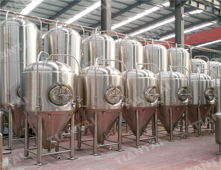 4000L double wall conical Fermenter