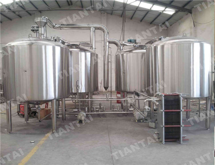 <b>35 bbl Three vessel brewhouse equipment</b>