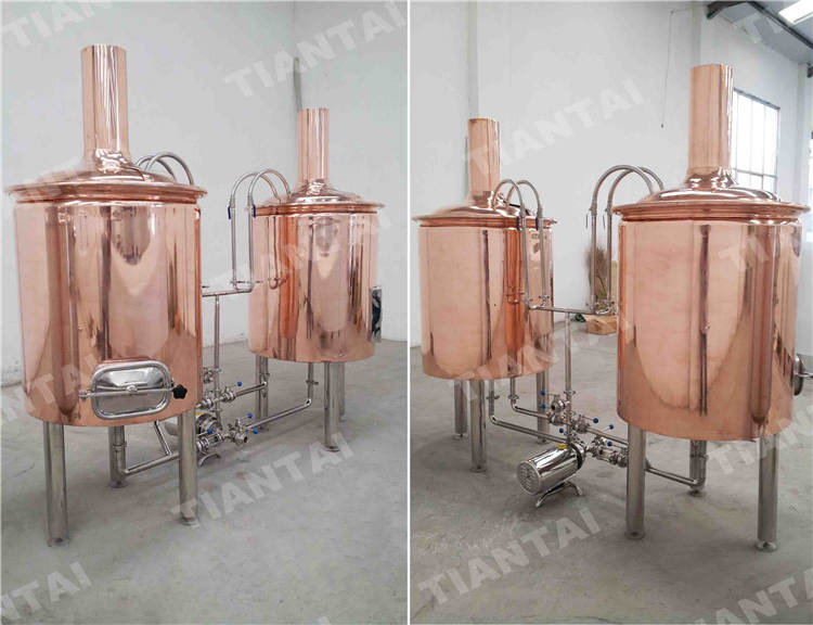 <b>2 bbl Brewpub beer brewing system</b>