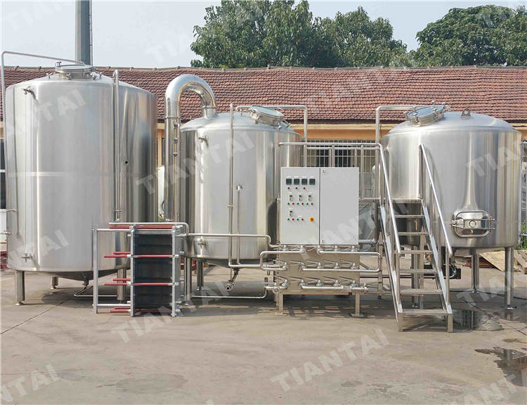 <b>70 bbl stainless steel brewhouse system</b>