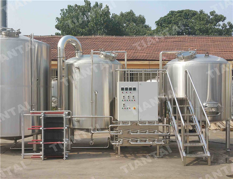 <b>40bbl Three vessel brewhouse equipment</b>