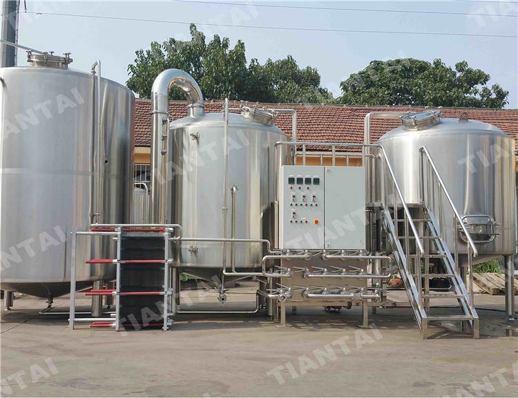 3500L Steam Mash Tun in China