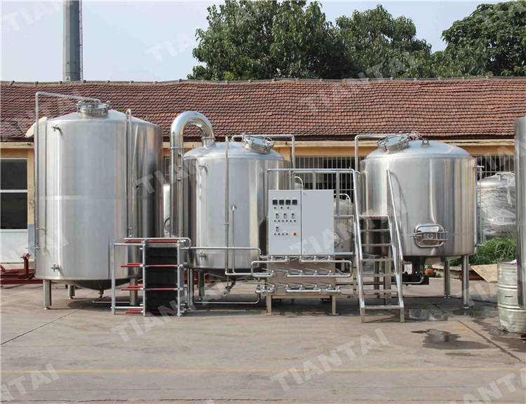<b>100bbl Stainless steel Brewhouse system</b>