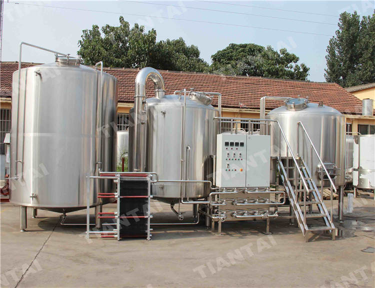 <b>40 bbl stainless steel brewhouse system</b>