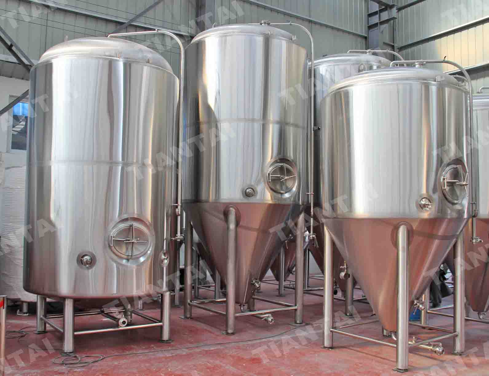 60 bbl Stainless steel fermenter