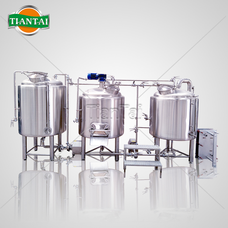 500L Two vessel brewhouse system