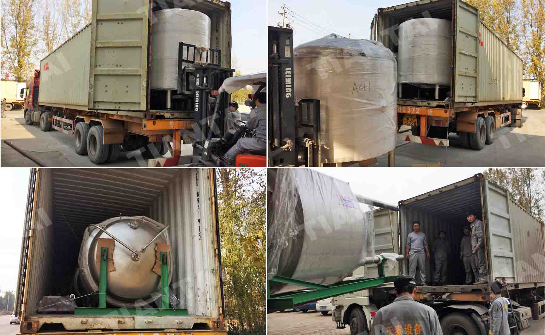 15BBL two vessel beer brewery system finished delivery