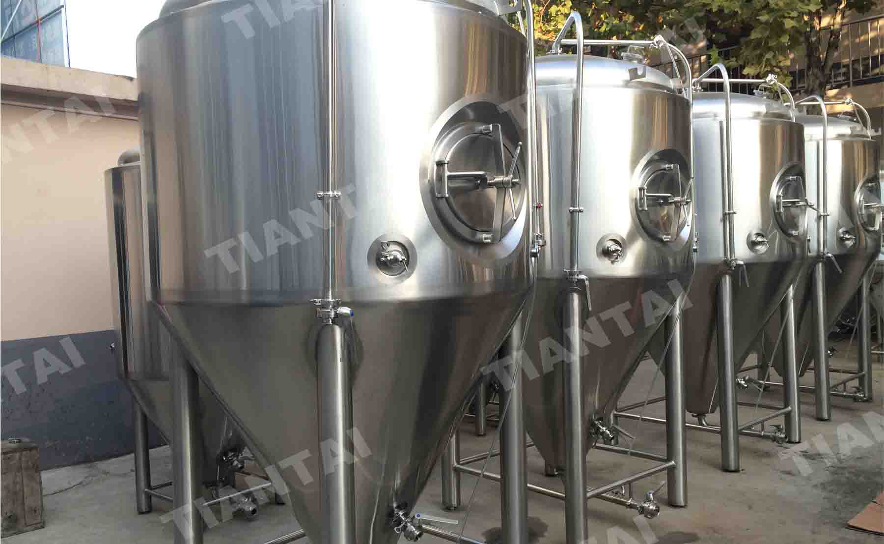 What will cause negative pressure in the fermenters?